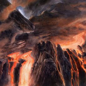 Mount Doom by Alan Lee