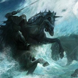 Nazgul in the Bruinen by Julia Alex (Julaxart@DeviantArt)