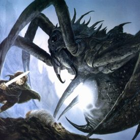 Sam and Shelob by John Howe