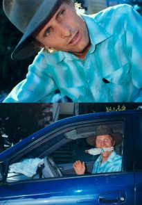 Viggo Mortensen in i-D 2003; photo Terry Richardson