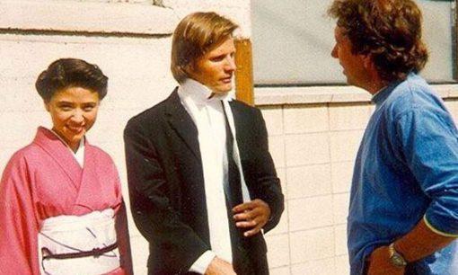 Anzu Lawson & Viggo Mortensen with director Frank Capella in American Yakuza