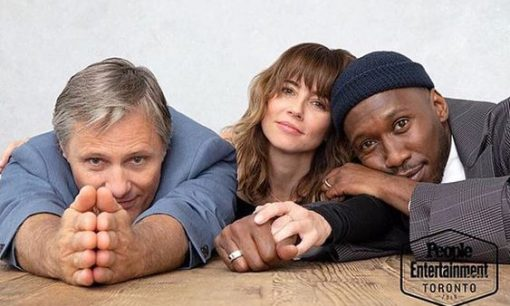 Linda Cardellini with Viggo & Mahershala