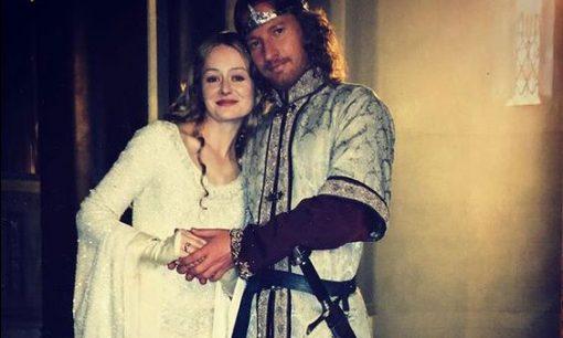Eowyn & Faramir from Miranda Otto's Instagram
