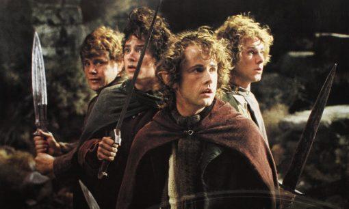 FOTR hobbits Weathertop