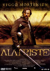 Viggo Mortensen as Alatriste poster (Germany)