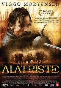 Viggo Mortensen as Alatriste poster (Netherlands)