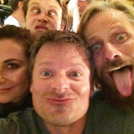 Matt Ross, Viggo Mortensen, & Captain Fantastic cast hamming it up