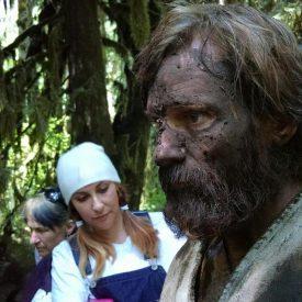 Viggo Mortensen mud-coated for Captain Fantastic