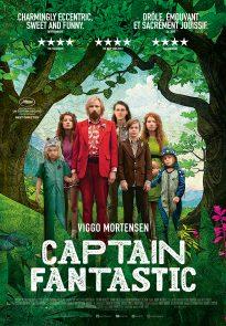 Captain Fantastic poster - Belgium