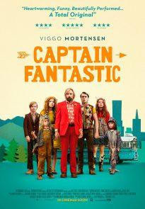Captain Fantastic poster - UK