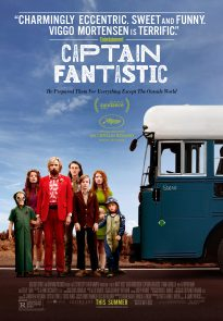 Captain Fantastic poster - USA