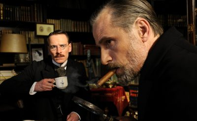 Viggo Mortensen & Michael Fassbender in A Dangerous Method