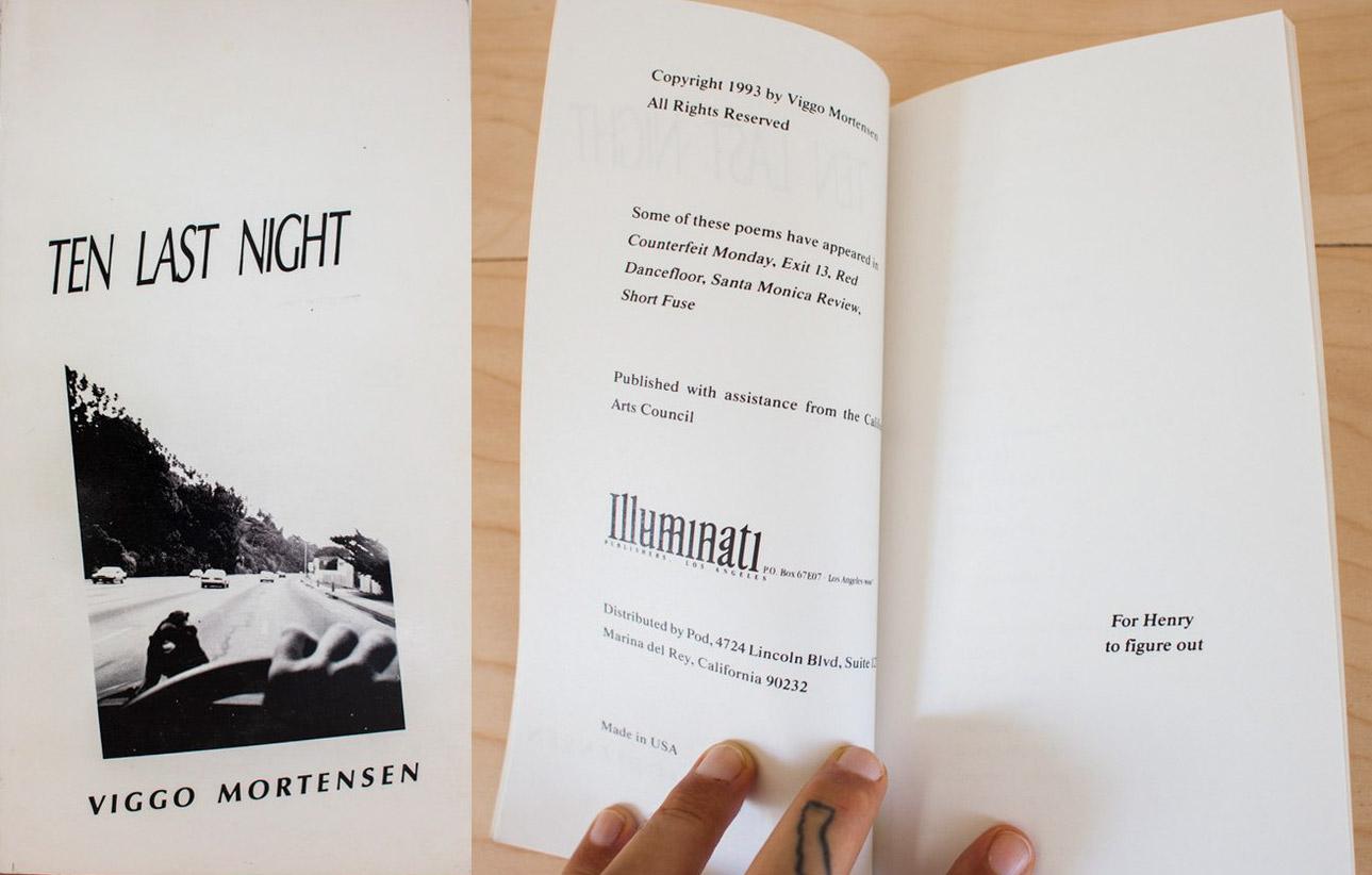 Ten Last Night manuscript | Brego net