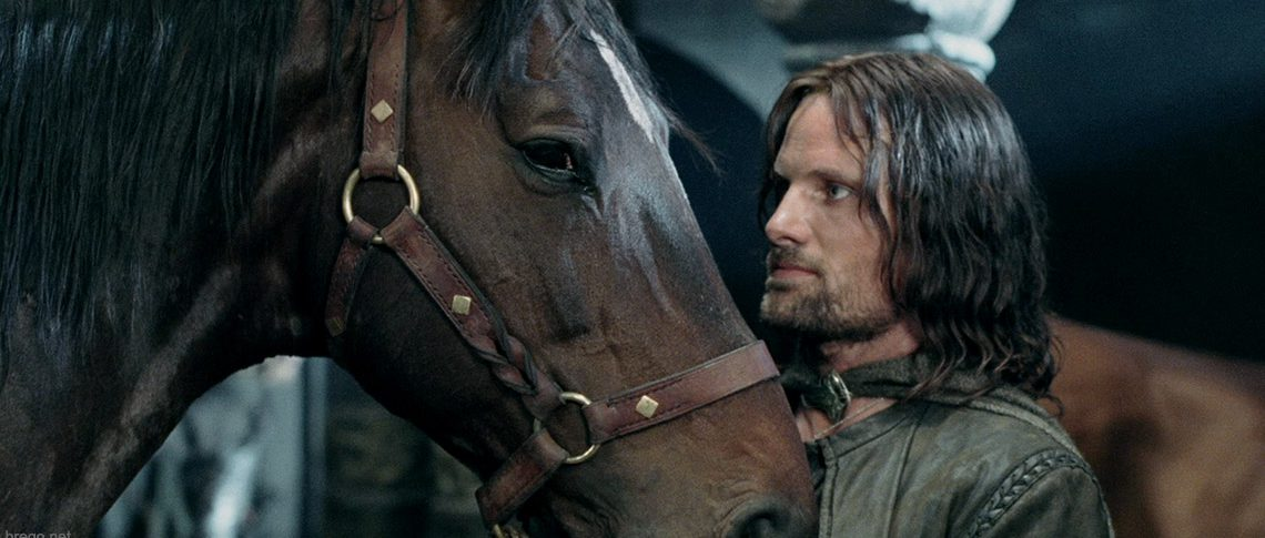 Aragorn & Brego in The Two Towers